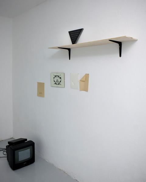 Cathy de Haan, installation view, sept 2011, ApiceforaArtists