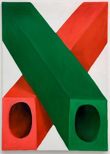 Sarah Verbeek, untitled, 2011, oil paint on canvas, 70 x 50 cm