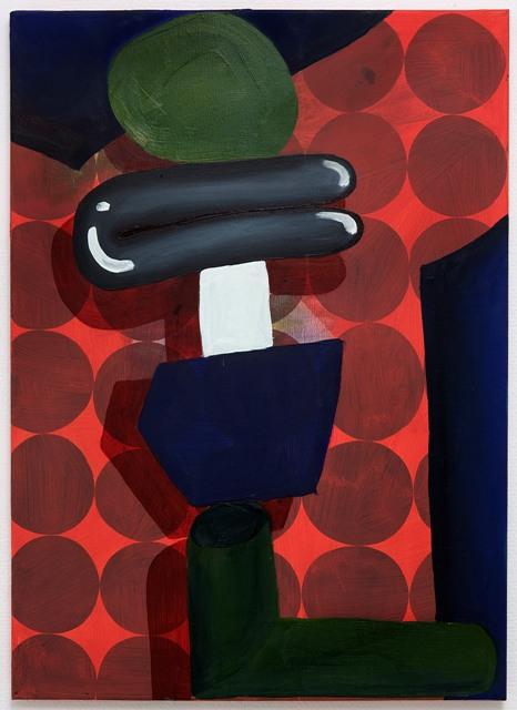 sarah verbeek, untitled 2, 2011, oil paint on canvas