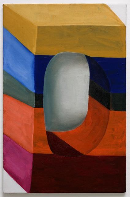 sarah verbeek, untitled, 2011, oil paint on canvas
